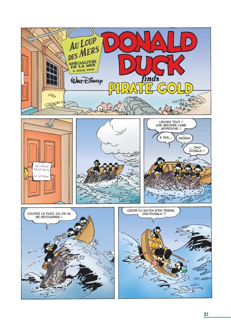 Extrait n°1 du comics tome 19 par Carl Barks
