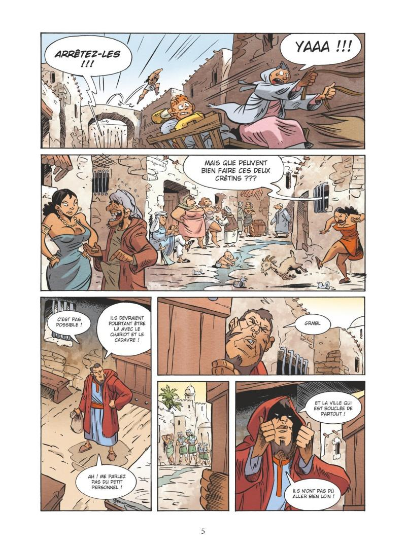 Extrait n°3 de la bd tome 5 par Nicolas Juncker