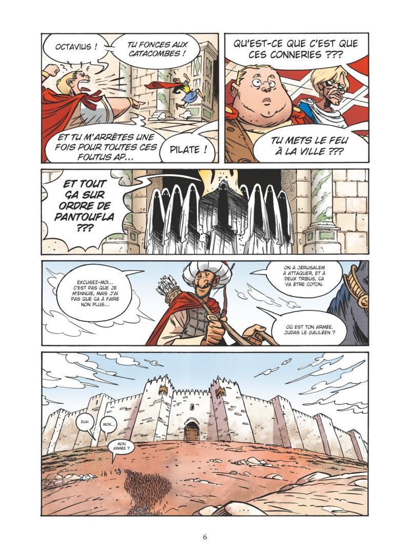 Extrait n°4 de la bd tome 6 par Nicolas Juncker