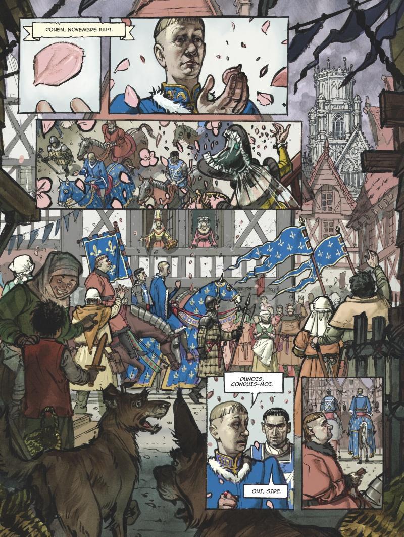 Extrait n°1 Jeanne d'Arc par Jérôme Le Gris
