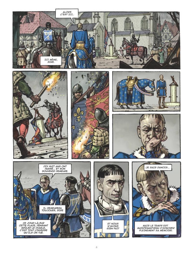 Extrait n°2 Jeanne d'Arc par Jérôme Le Gris