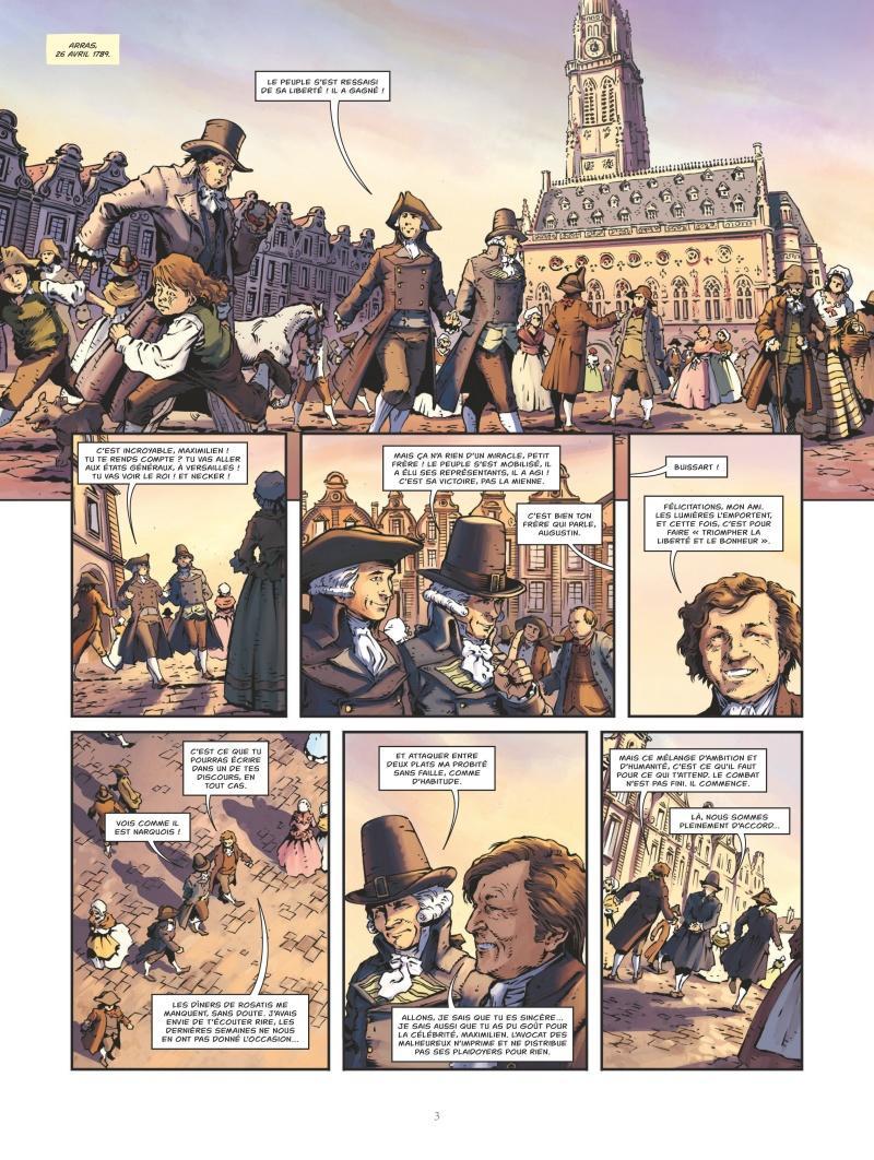 Extrait n°1 Robespierre par Mathieu Gabella