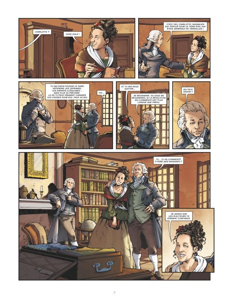 Extrait n°3 Robespierre par Mathieu Gabella