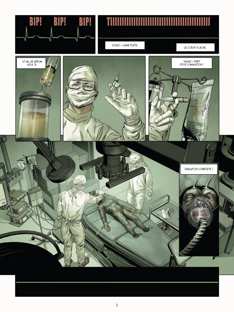 Extrait n°1 du comics tome 1 par Jean-Luc Istin