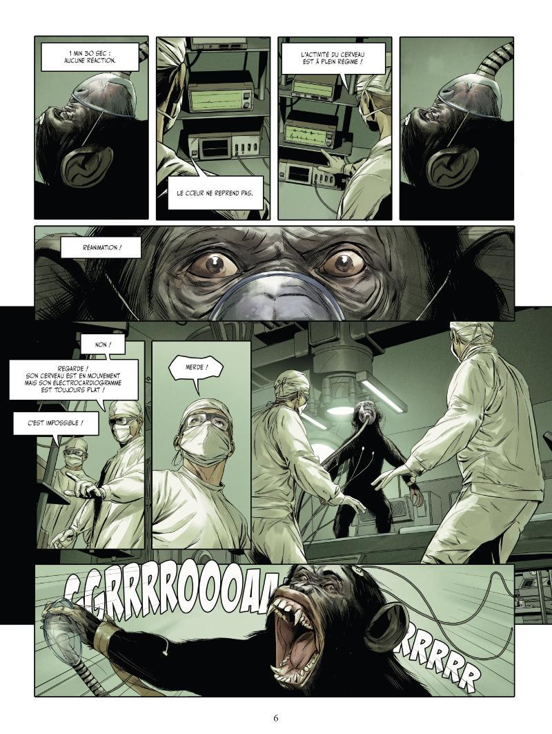 Extrait n°2 du comics tome 1 par Jean-Luc Istin