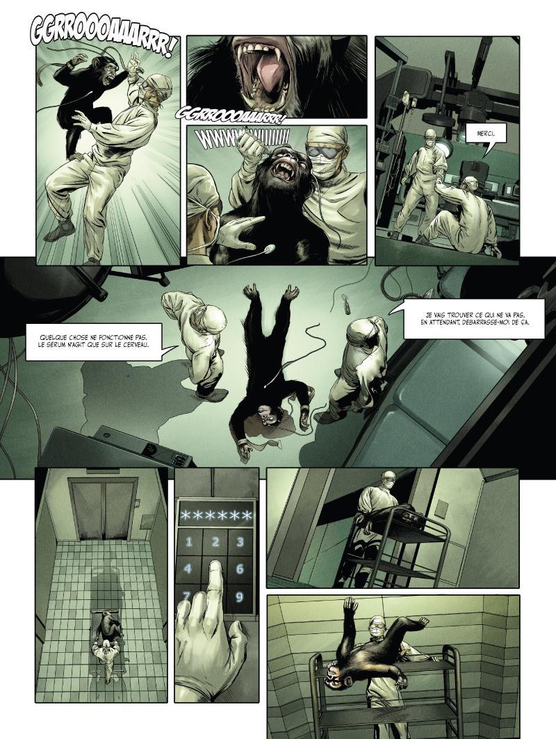 Extrait n°3 du comics tome 1 par Jean-Luc Istin
