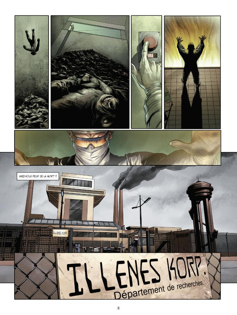 Extrait n°4 du comics tome 1 par Jean-Luc Istin