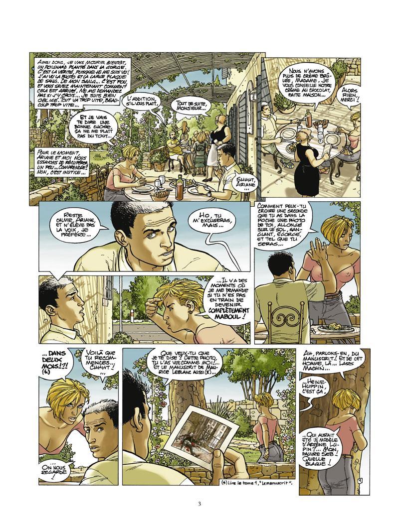 Extrait n°1 de la bd tome 2 par Christian Godard