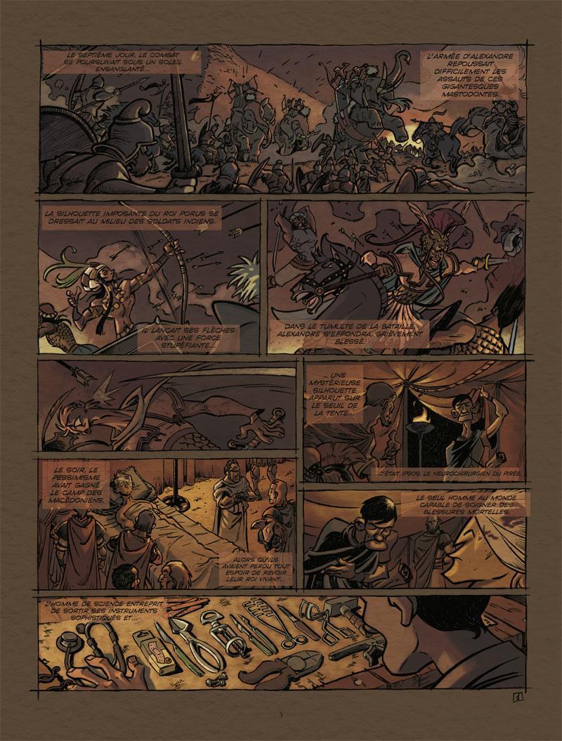 Extrait n°1 de la bd tome 1 par Juan Diaz Canales