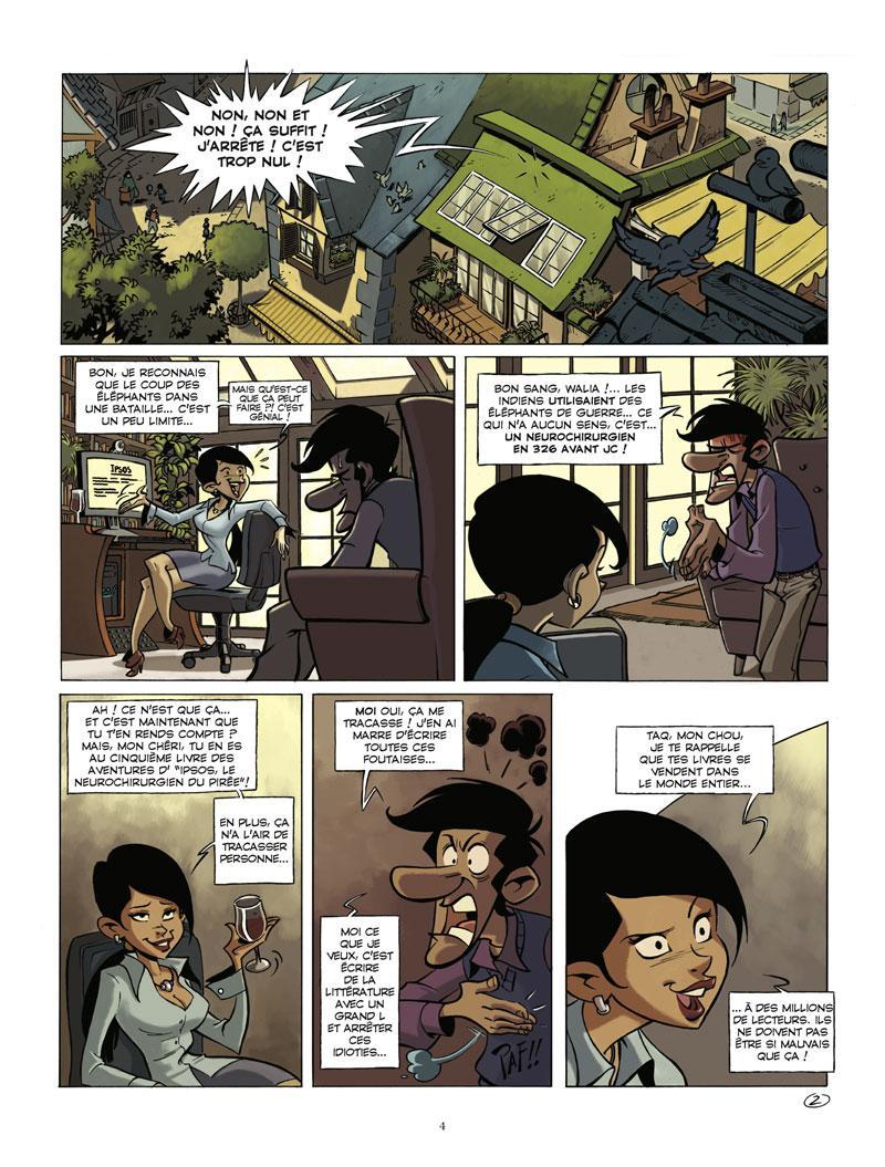 Extrait n°2 de la bd tome 1 par Juan Diaz Canales
