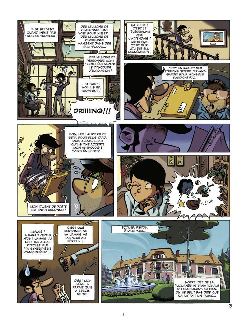 Extrait n°3 de la bd tome 1 par Juan Diaz Canales