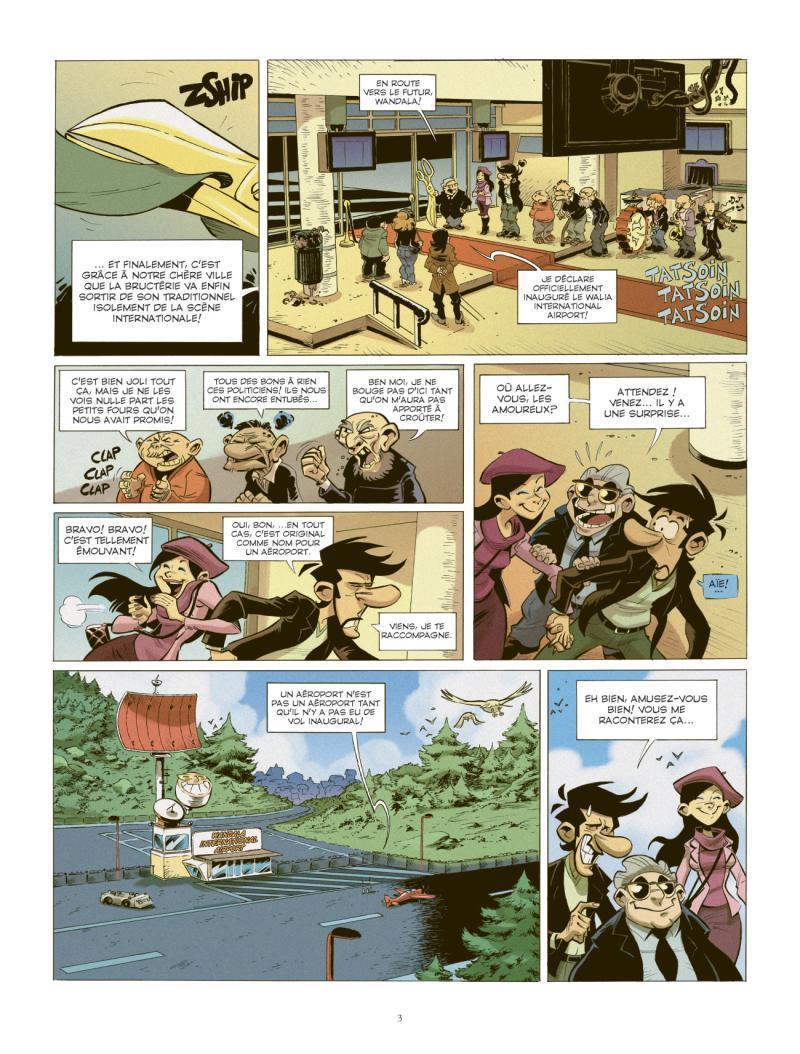 Extrait n°1 de la bd tome 2 par Juan Diaz Canales