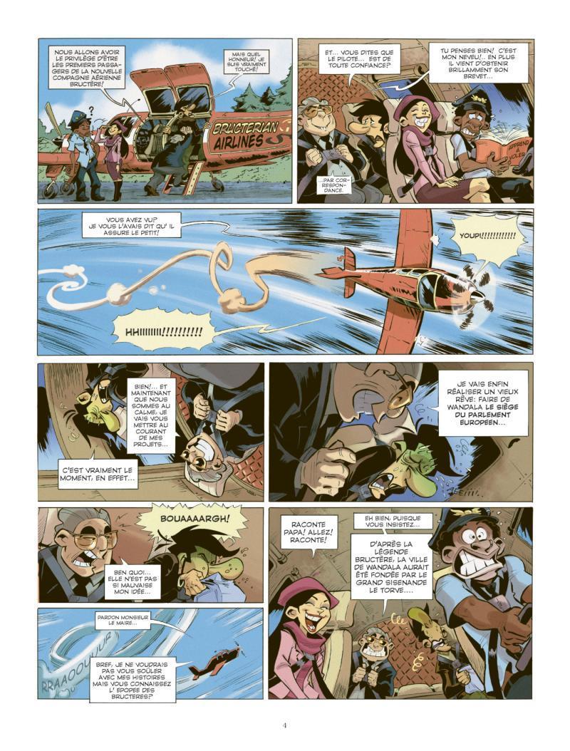 Extrait n°2 de la bd tome 2 par Juan Diaz Canales