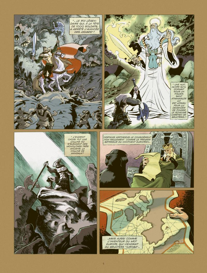 Extrait n°3 de la bd tome 2 par Juan Diaz Canales