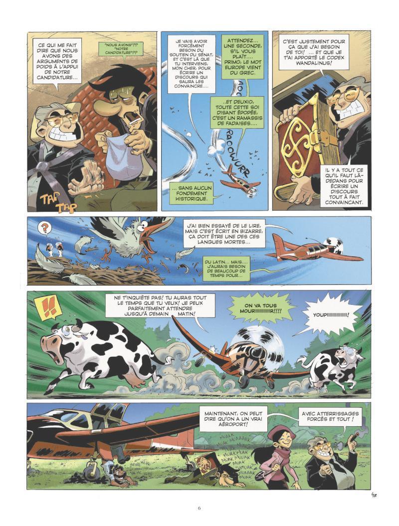 Extrait n°4 de la bd tome 2 par Juan Diaz Canales