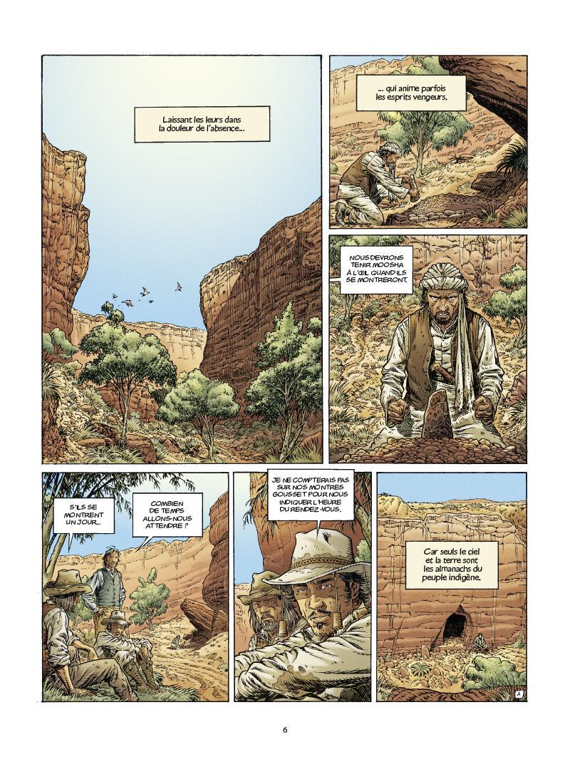 Extrait n°4 de la bd tome 3 par Nathalie Sergeef