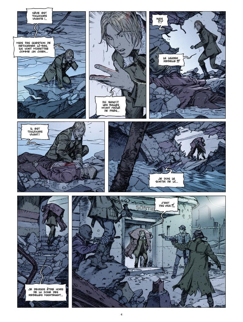 Extrait n°2 de la bd tome 3 par Thierry Labrosse