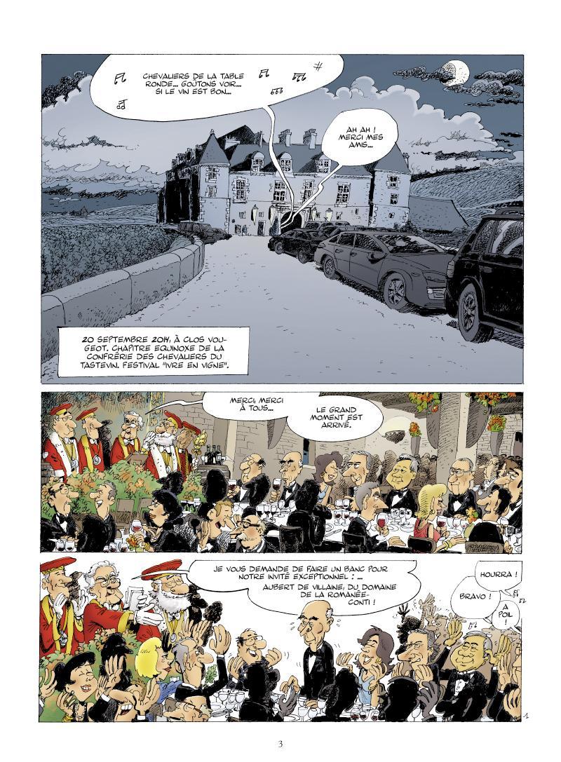 Extrait n°1 Pinot noir contre Dragon blanc par Philippe Bercovici