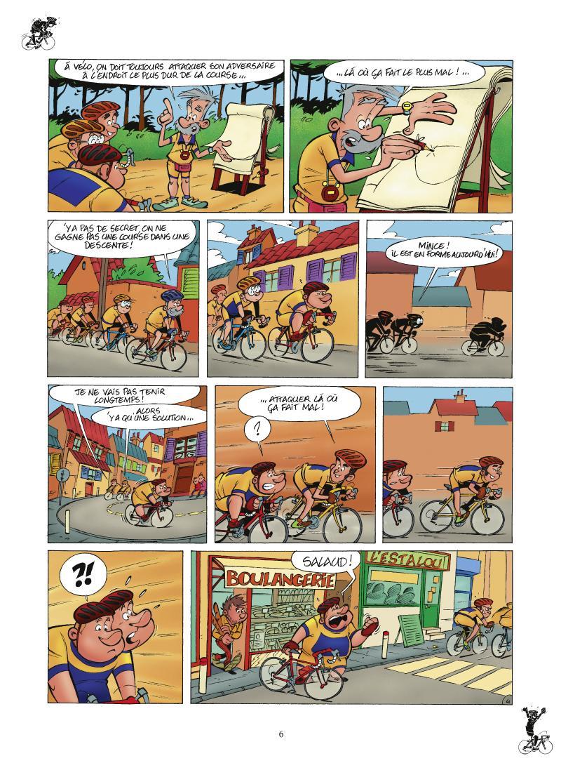 Extrait n°4 de la bd tome 1 par Laurent Panetier
