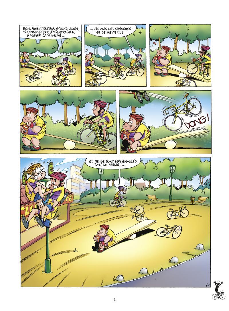 Extrait n°2 de la bd tome 2 par Laurent Panetier