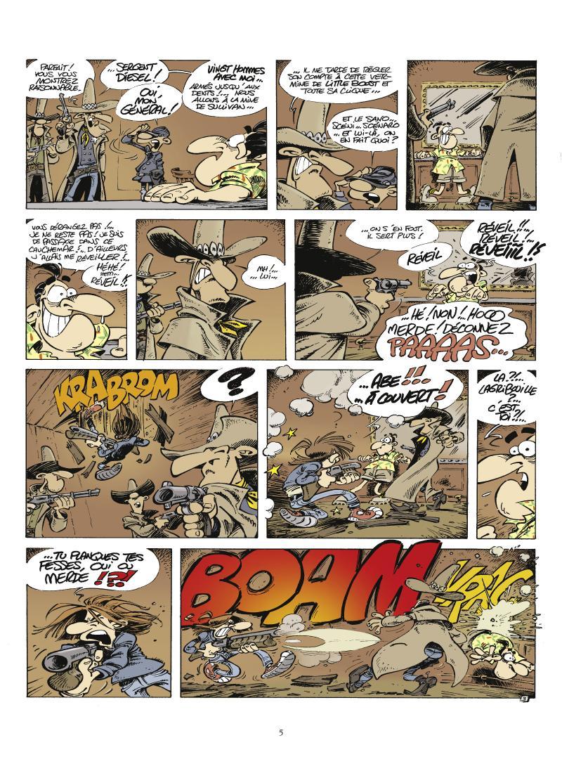 Extrait n°3 La Légende de Little Boost par 'Fane