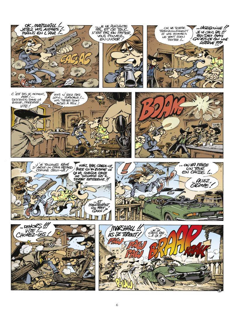 Extrait n°4 La Légende de Little Boost par 'Fane