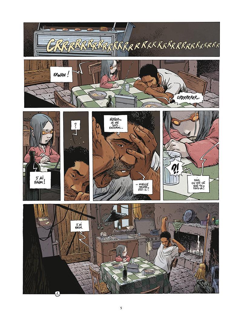 Extrait n°1 de la bd tome 5 par Régis Loisel