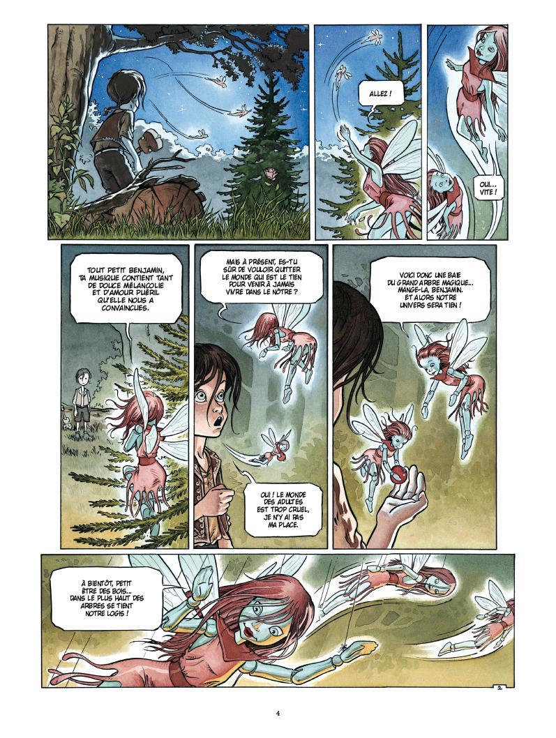 Extrait n°2 de la bd par Mathieu Gallié