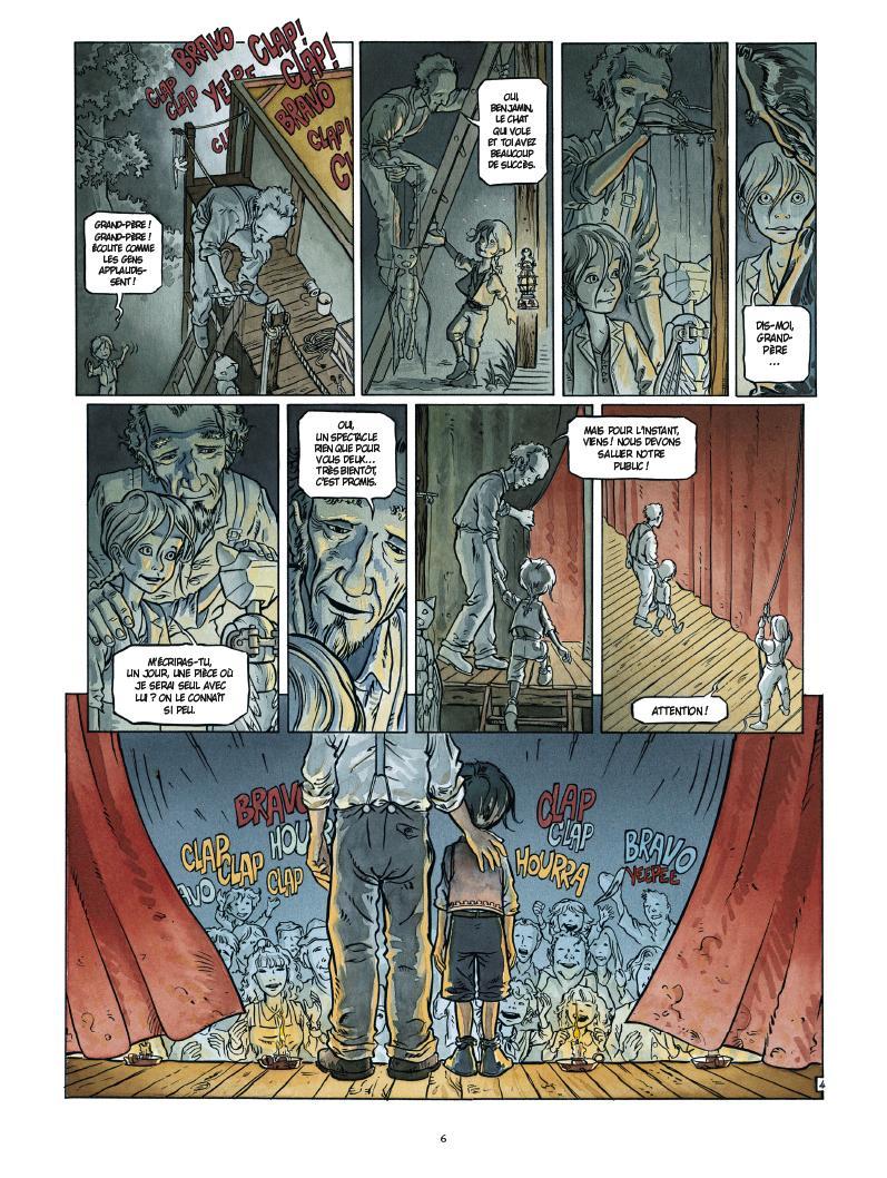 Extrait n°4 de la bd par Mathieu Gallié