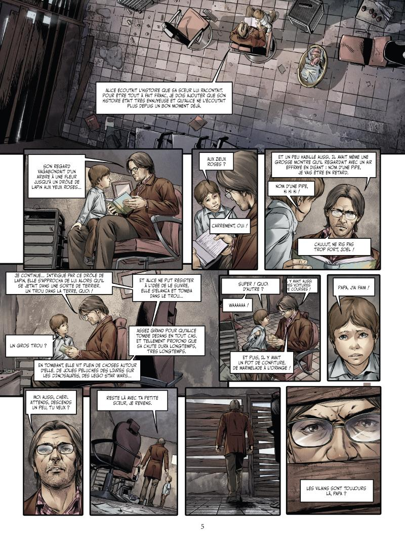Extrait n°1 du comics tome 2 par Jean-Luc Istin