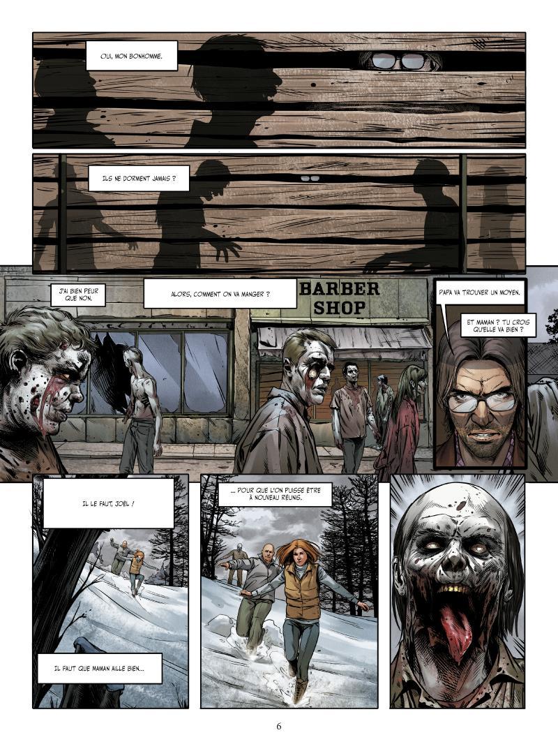 Extrait n°2 du comics tome 2 par Jean-Luc Istin