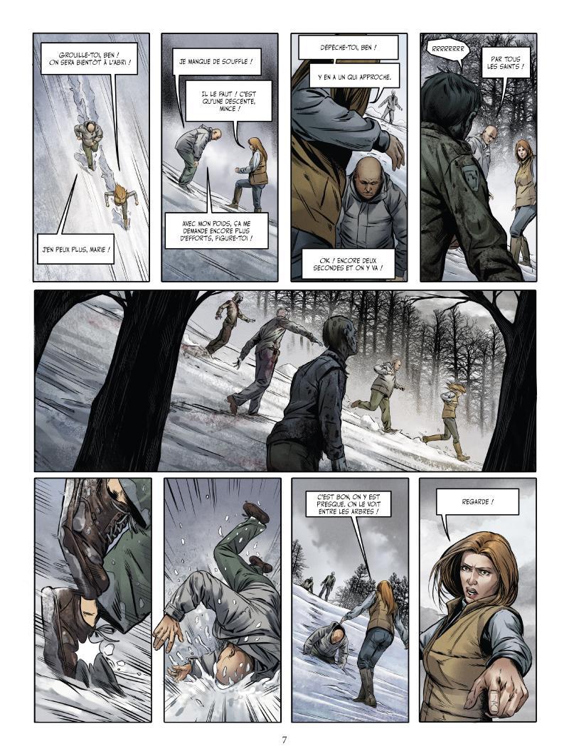 Extrait n°3 du comics tome 2 par Jean-Luc Istin