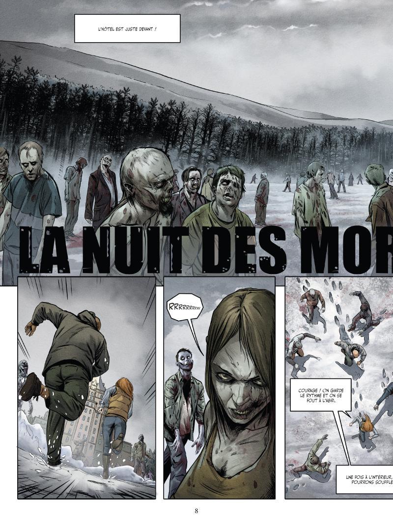 Extrait n°4 du comics tome 2 par Jean-Luc Istin