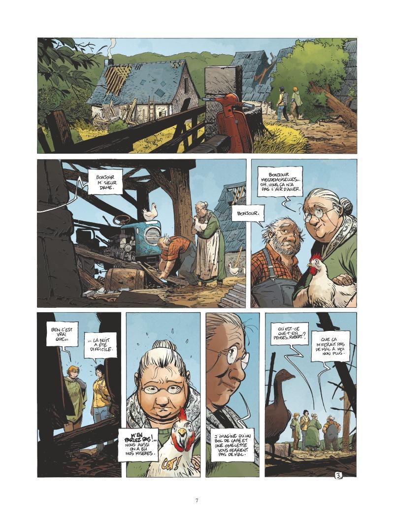 Extrait n°3 de la bd tome 6 par Régis Loisel