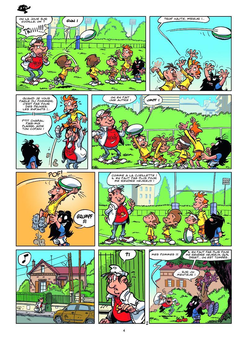 Extrait n°2 tome 1 par Michel Rodrigue