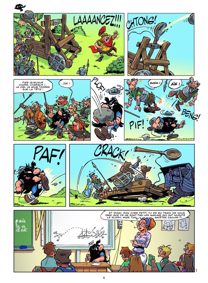 Extrait n°4 tome 1 par Michel Rodrigue