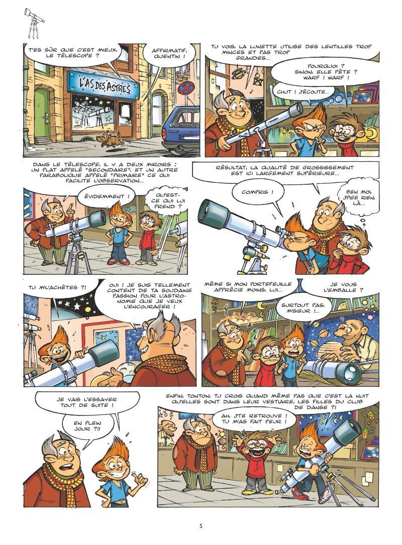 Extrait n°3 tome 1 par Cédric Ghorbani