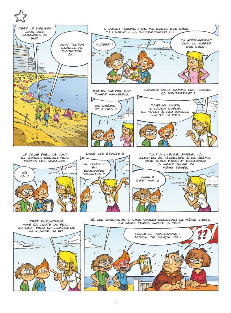 Extrait n°1 tome 2 par Cédric Ghorbani