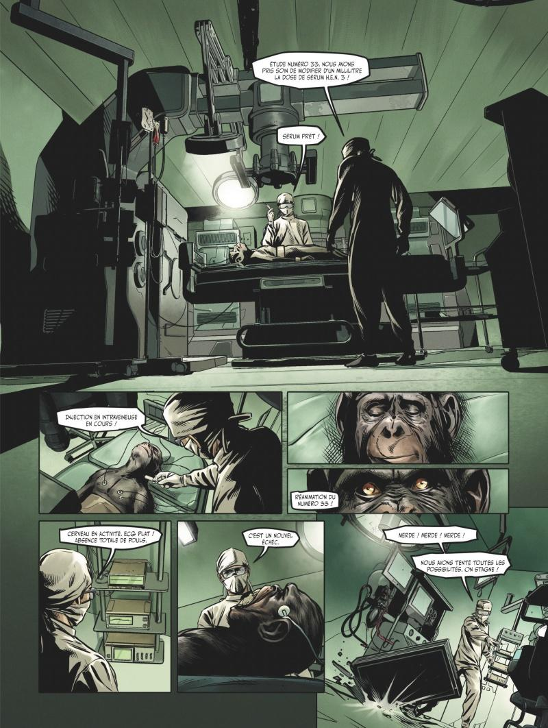 Extrait n°1 du comics tome 3 par Jean-Luc Istin