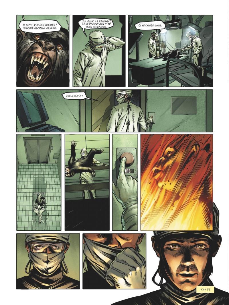 Extrait n°2 du comics tome 3 par Jean-Luc Istin