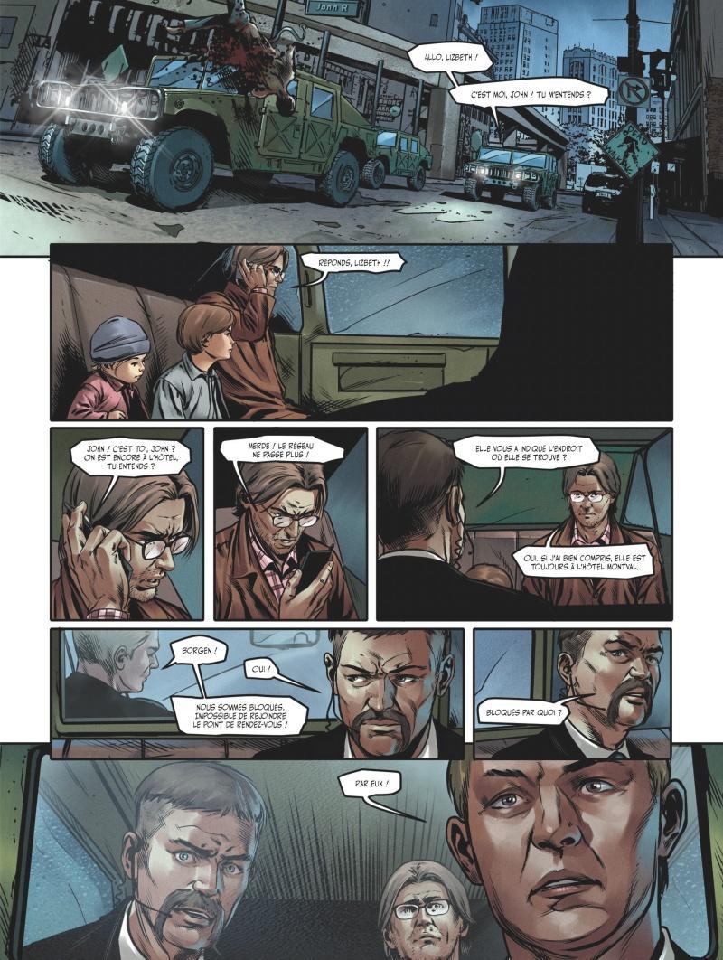 Extrait n°3 du comics tome 3 par Jean-Luc Istin