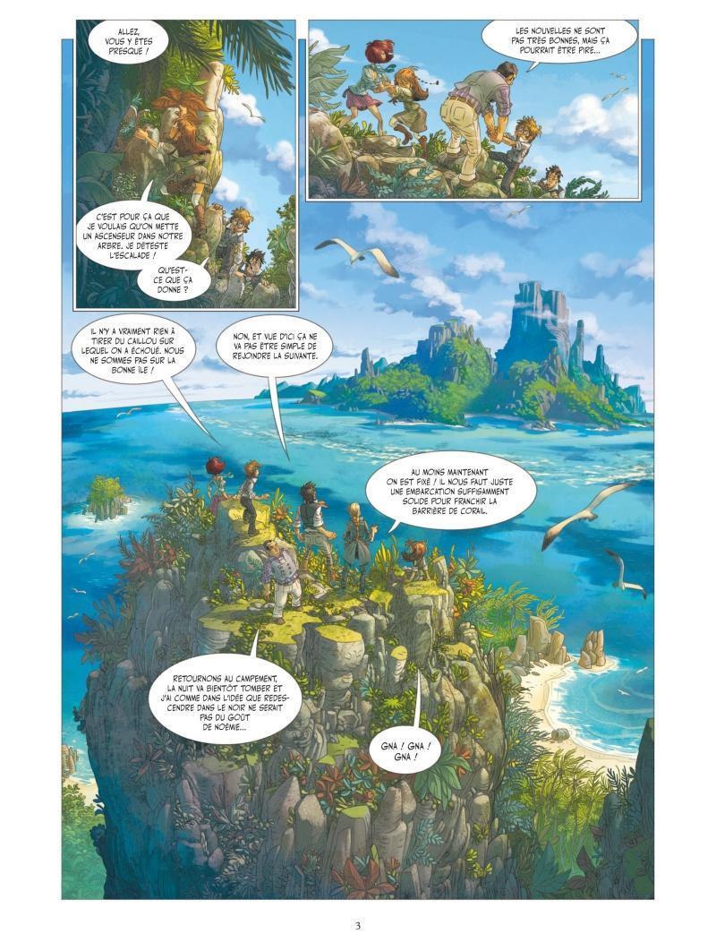 Extrait n°1 de la bd tome 5 par Denis-Pierre Filippi