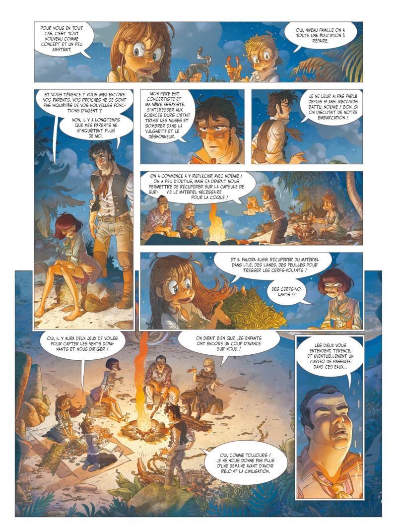 Extrait n°3 de la bd tome 5 par Denis-Pierre Filippi