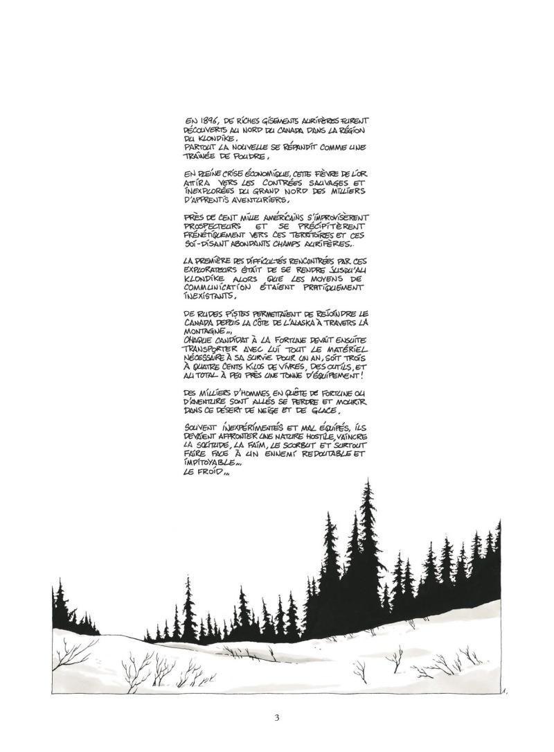 Extrait n°1 Construire un feu - NE par Christophe Chabouté