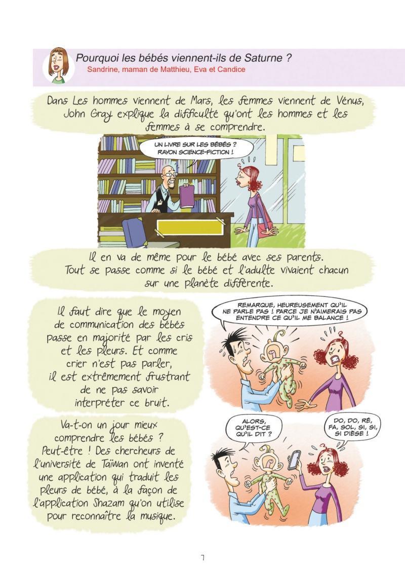 Extrait n°1 Et les bébés viennent de Saturne par Sylvia Douyé