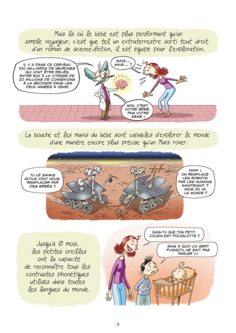 Extrait n°4 Et les bébés viennent de Saturne par Sylvia Douyé