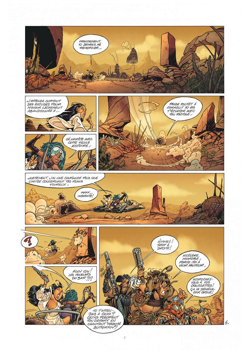 Extrait n°5 tome 1 par Crisse