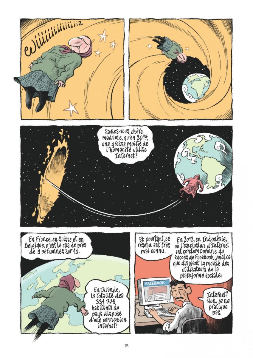 Extrait n°4 de la bd tome 17 par Mathieu Burniat