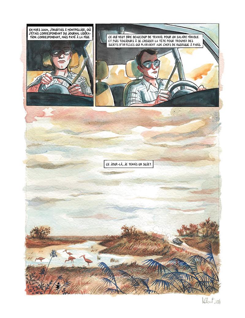 Extrait n°3 de la bd tome 4 par Clément Baloup