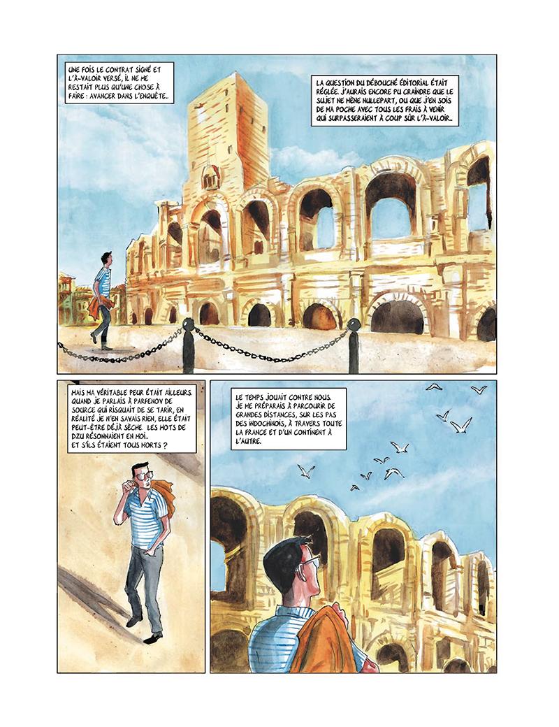 Extrait n°15 de la bd tome 4 par Clément Baloup